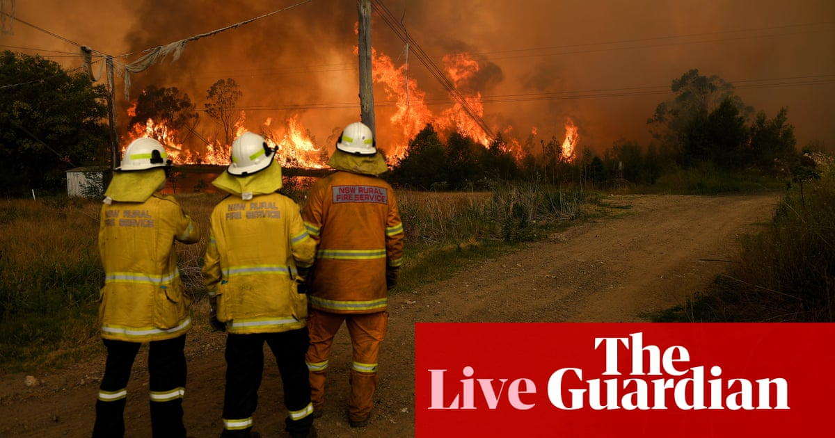 5329 - NSW fires live: premier says 'not much left in Balmoral' as South Australia bushfires continue to rage – latest | Australia news