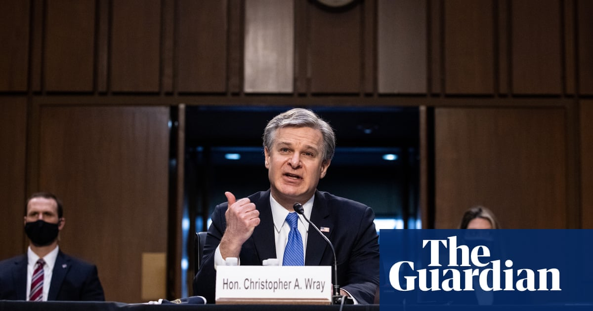 FBI views Capitol insurrection as domestic terrorism, says Christopher Wray – video