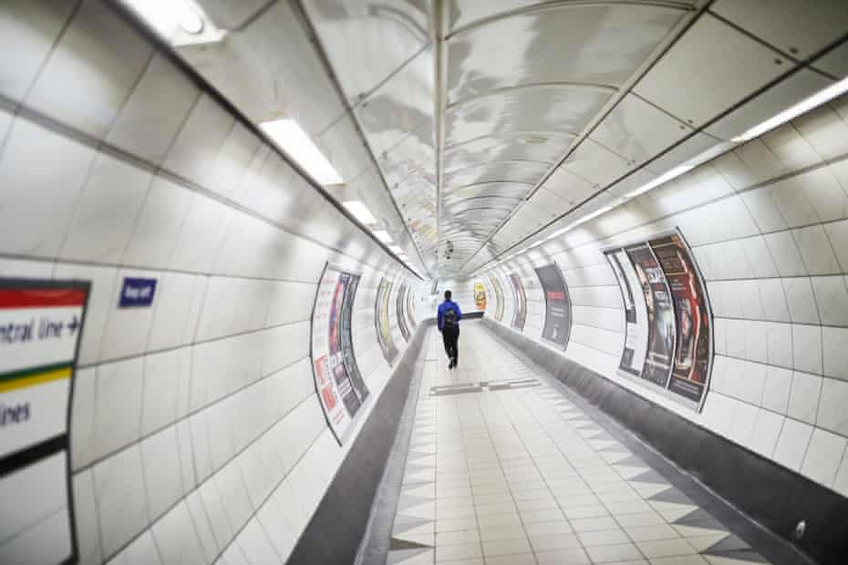 Bank is normally the most chaotic and congested stations in the network a warren of tunnels connecting lines and multiple exists to the City of London
