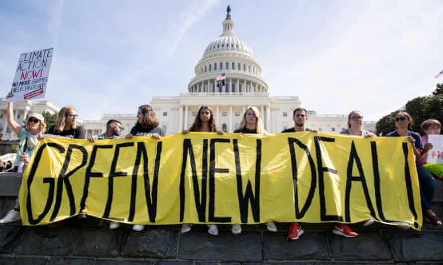 'We don't want to bounce back to a January 2020 economy when half the country lived paycheck to paycheck; unchecked carbon pollution endangered our future; and racial inequalities made people of color so vulnerable to disease.'