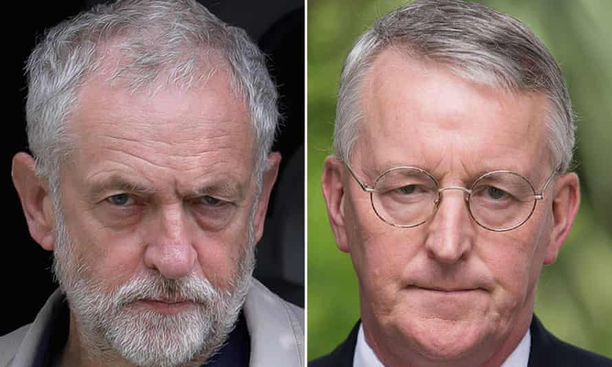 Jeremy Corbyn was told by Hilary Benn he no longer had confidence in him to lead the Labour party.