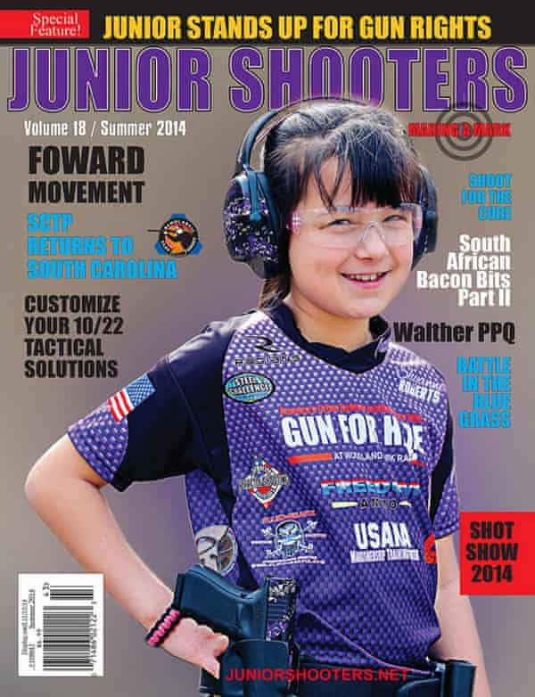 The Volume 18 cover of Junior Shooters.