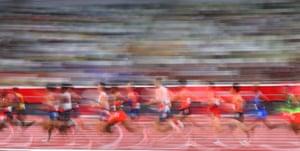 The men's 10,000m final.