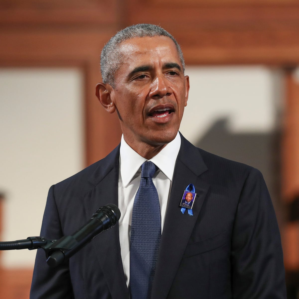 Barack Obama John Lewis Knew The March Is Not Yet Over The Race Is Not Yet Won Barack Obama The Guardian
