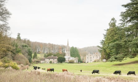 Photograph of Nadder valley, Wiltshire