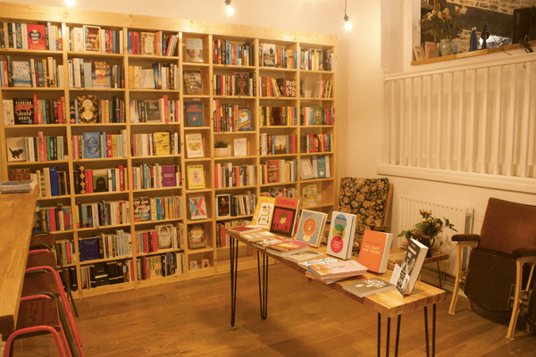 Storysmith bookshop in Bristol.