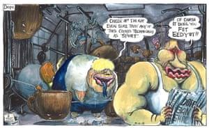 Martin Rowson cartoon 10.12.19