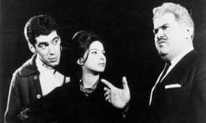 Gould with Barbra Streisand and Jack Kruschen in the 1962 Broadway play I Can Get it For You Wholesale. Photograph: Snap/Rex/Shutterstock
