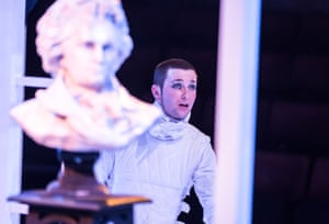 'Intriguing and insinuating': George Caple as Alex in A Clockwork Orange at the Everyman, Liverpool