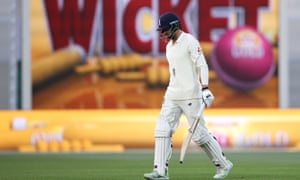 James Vince trudges off in Adelaide after being dismissed in the second Ashes Test