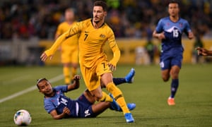 World Cup Qualifier, Australia v Nepal
