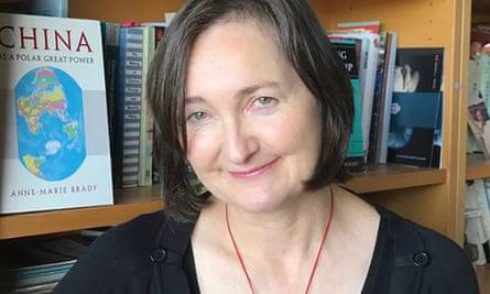 Anne-Marie Brady, professor at the University of Canterbury.