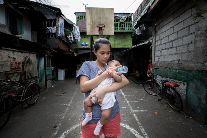 How formula milk firms target mothers who can least afford
