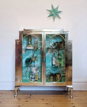 Webb & Gray upcycle and restore furniture from the UK, France and Belgium using environmentally friendly paints and wallpaper.Victorian display cabinet, £795, webbandgray.com