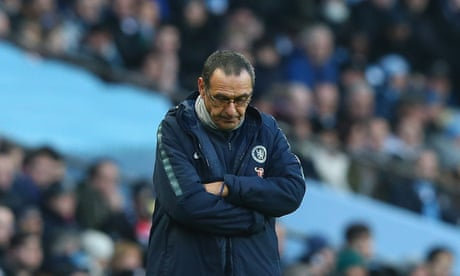 Maurizio Sarri has a month to save his job as Chelsea prepare for Malmö trip