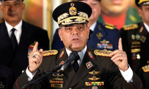 Venezuelan defense minister Vladimir Padrino said: 'We are here to avoid, at all costs … a conflict between Venezuelans.'