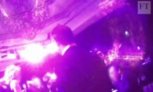 Secret filming of misbehaviour at the Presidents Club charity event in London's Dorchester hotel.