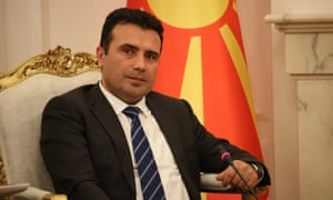 Zoran Zaev, the Macedonian prime minister, has denounced his nationalist predecessor for stoking passions.