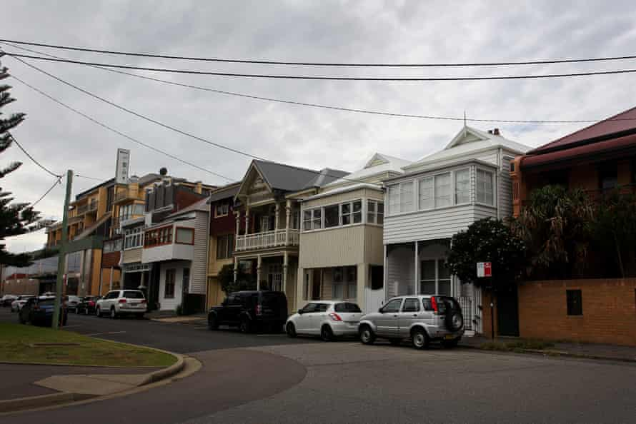 Newcastle streets are seen empty as locals isolate at home.