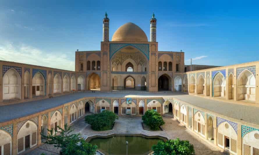 Agha Bozorg mosque in Kashan