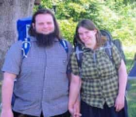 Caitlan Coleman and Joshua Boyle, before they were kidnapped by Taliban militants in Afghanistan.