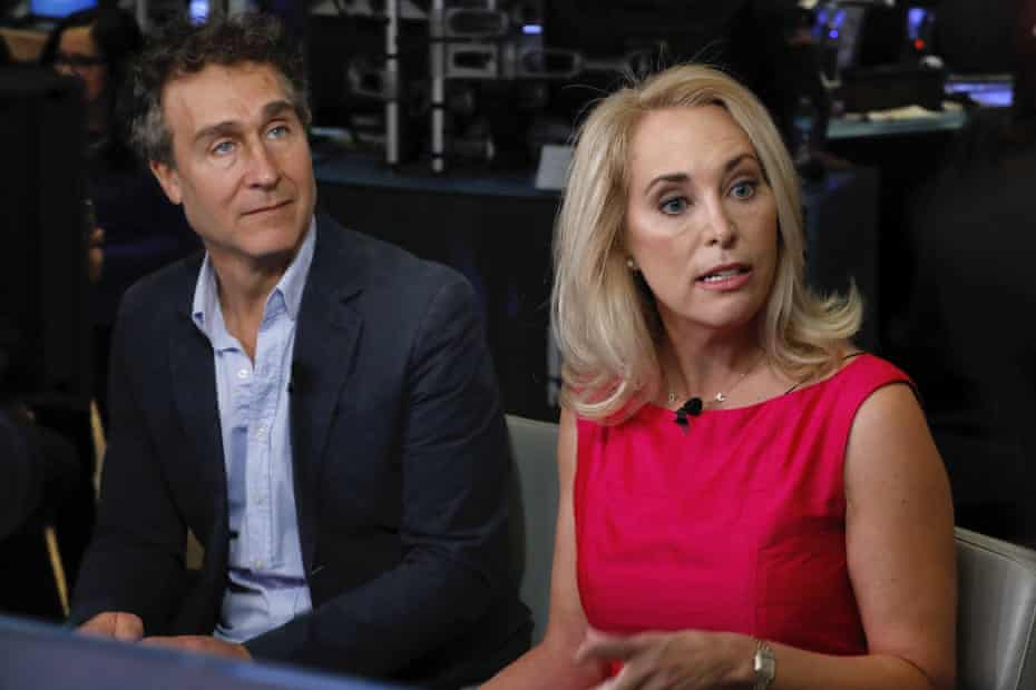 Doug Liman and Valerie Plame