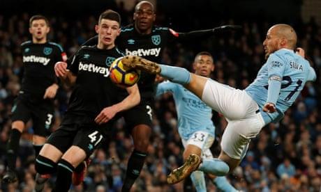 Pep Guardiola happy as Man City repeat 'Fergie time' trick against West Ham