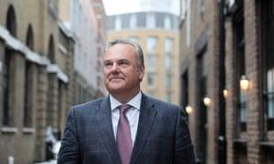 Burnley chairman Mike Garlick.