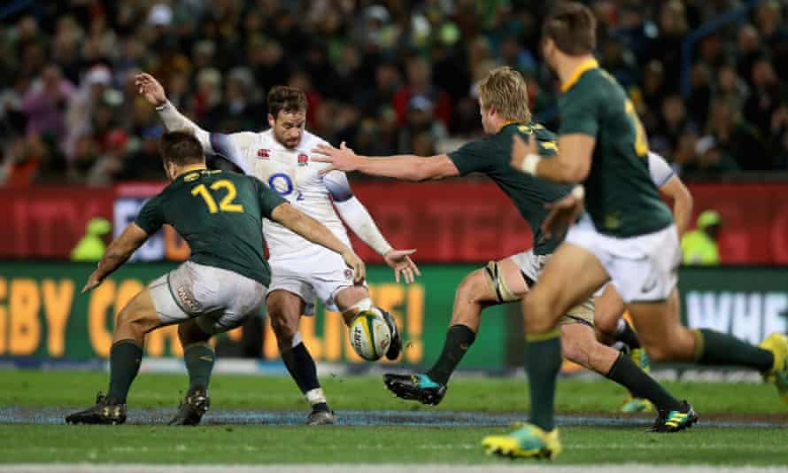 Danny Cipriani steered England to victory over South Africa in Cape Town in his last England appearance in summer 2018.