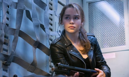 Shooitng star: in Terminator Genisys, 2015.