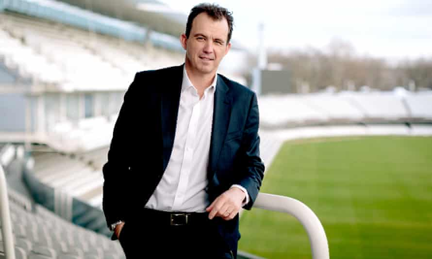 Tom Harrison, chief executive of the England and Wales Cricket Board