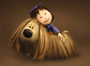 Dougal and Florence in the 2005 film The Magic Roundabout.