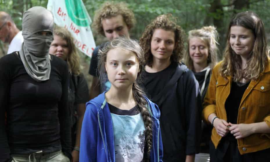 Greta Thunberg and Luisa Neubauer
