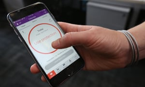 The Natural Cycles phone app