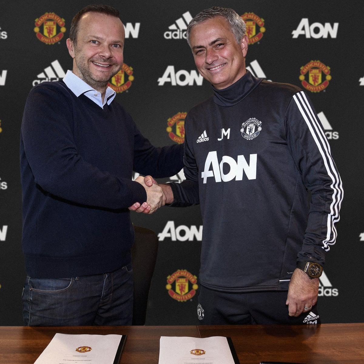 Jose Mourinho Signs New Deal But Confusion Reigns Over Sanchez Football The Guardian