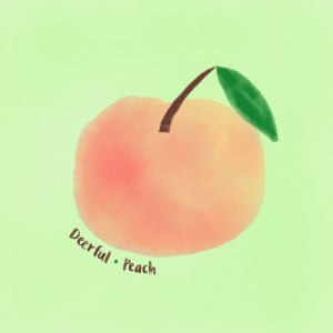The sleeve of Deerful's Peach