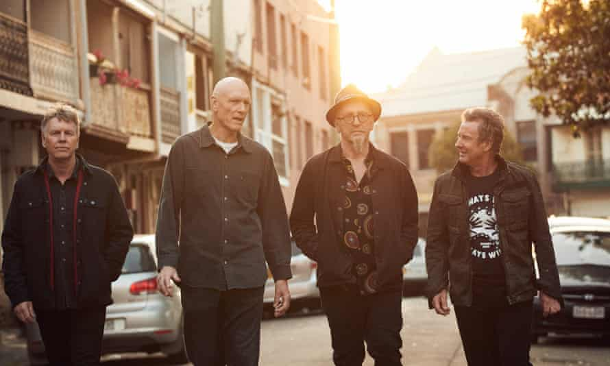 Australian rock band Midnight Oil, whose album The Makarrata Project is out in October 2020