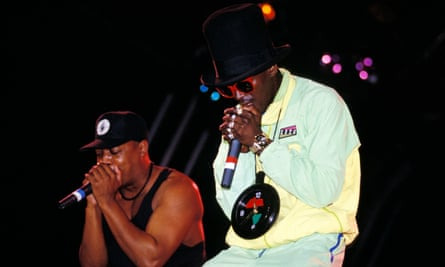 Public Enemy perform at Reading in 1992