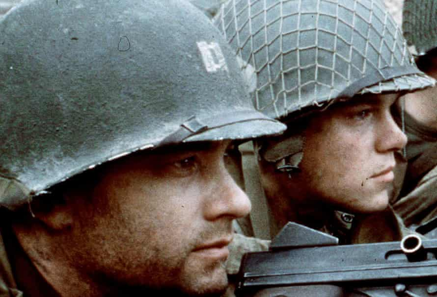 'An American magazine spiked my review as it did not share the widespread adulation' … Tom Hanks and Matt Damon in Steven Spielberg's Saving Private Ryan.