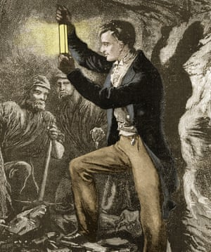 Sir Humphry Davy invented the miners' safety lamp in 1815, which massively reduced the numbers of underground explosions and gassings