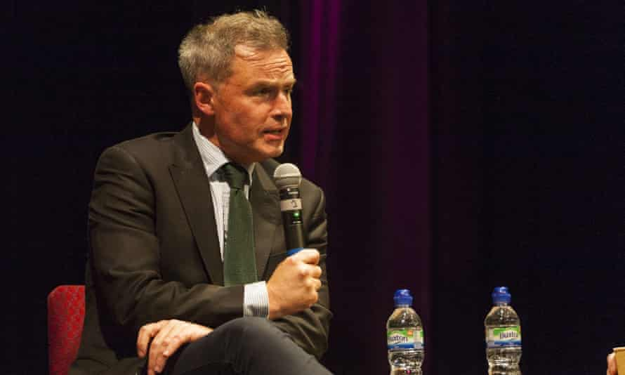 Peter Whittle at a mayoral hustings.