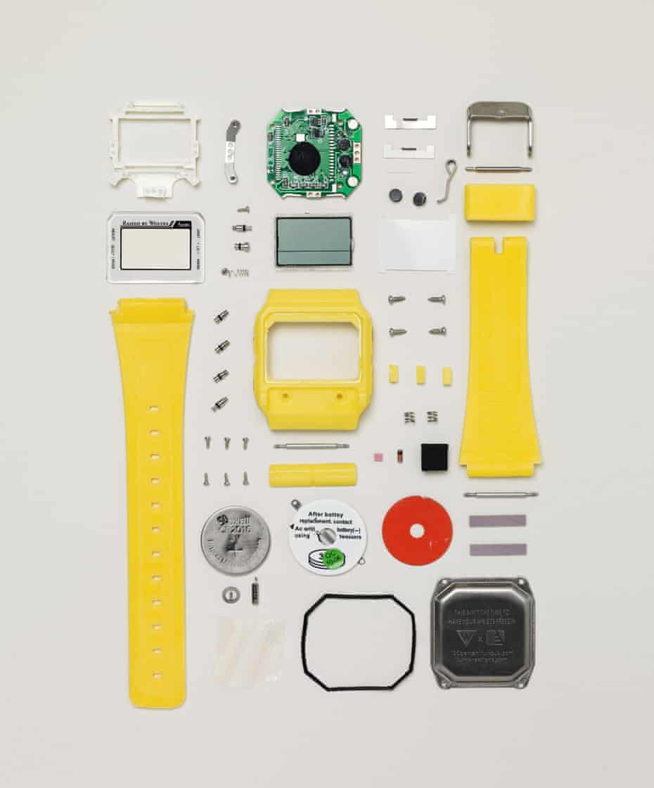Digital watch, 2010 (57 components).