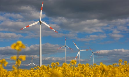 Windfarms in Germany's north are producing so much energy that Berlin sometimes has to pay them to switch their turbines off.