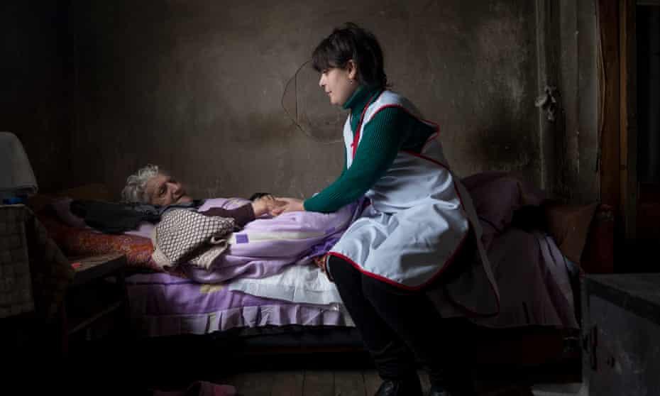 Larisa in Gyumri