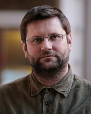 Playwright David Eldridge.