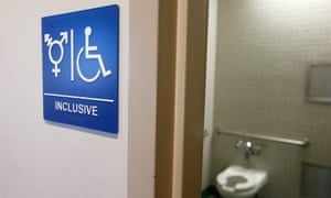 Transgender-rights advocates reacted with outrage at Texas's own proposals to limit bathroom access.