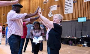 National Theatre Public Acts Pericles rehearsal