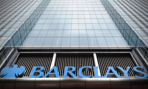 Barclays building in Canary Wharf