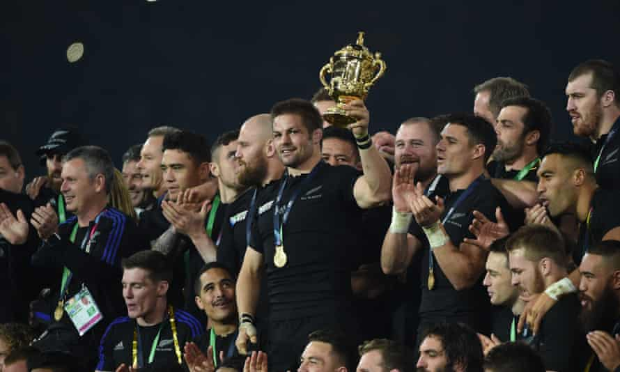 Former New Zealand captain Richie McCaw