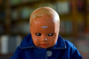 Boy with a Price on his HeadThe second-hand shop in Milan was full of treasures, but this little chap was star of the show Photograph: hogsvilleBrit/GuardianWitness